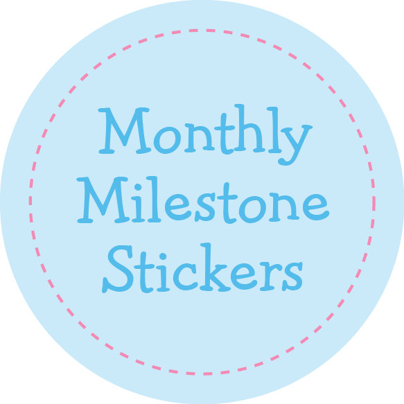 Monthly Milestone Stickers