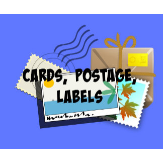 CARDS, Postcards, Invitations, Postage, Labels...