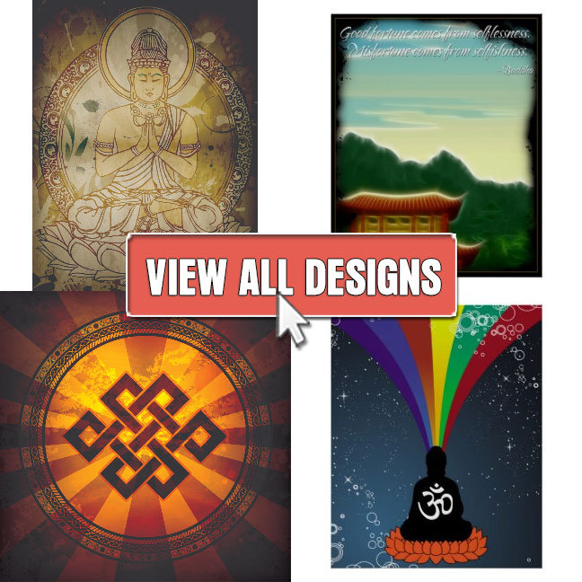Buddhism Art and Posters