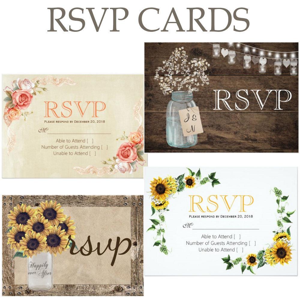1 RSVP CARDS