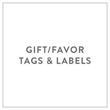 Gift/Favor Tags and Labels