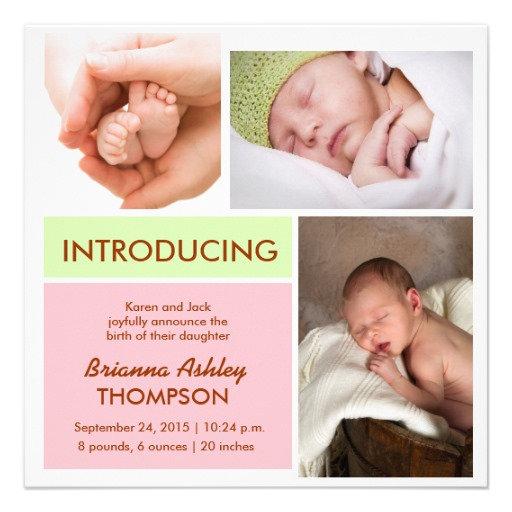 Birth Announcements