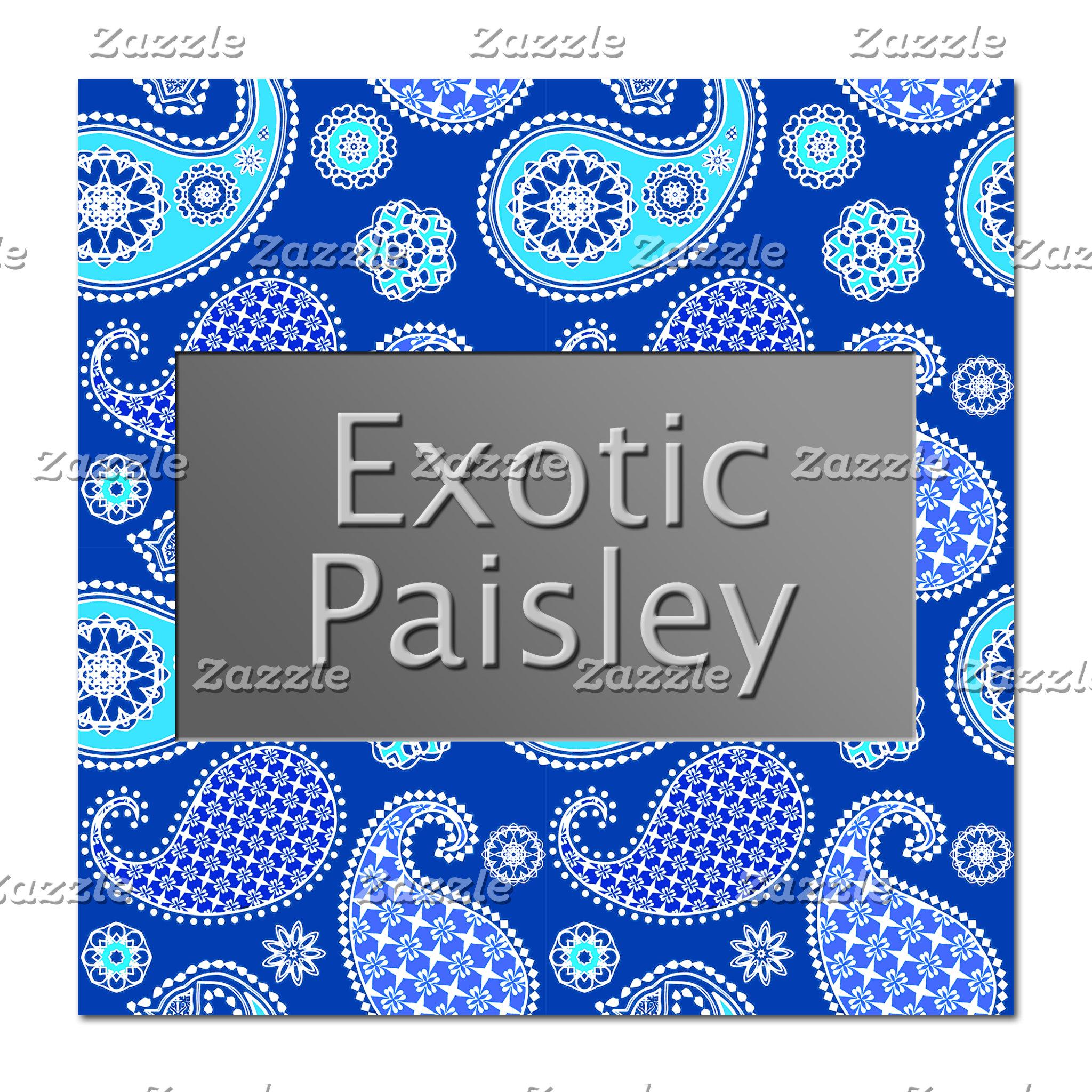 Exotic Paisley
