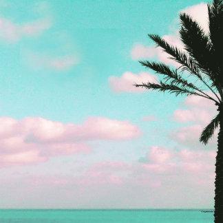 Tropical Beach, Ocean View Landscape