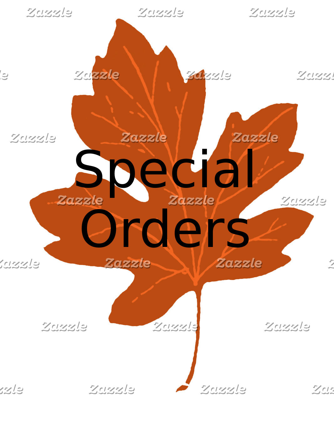 Special Orders