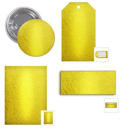 Gold Faux Foil