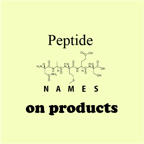 Peptide word bags
