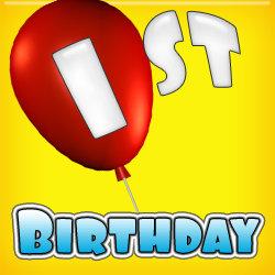 - 1st Birthday  (1-year-old)