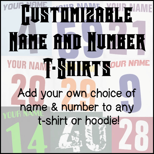 Name & Number T-Shirts