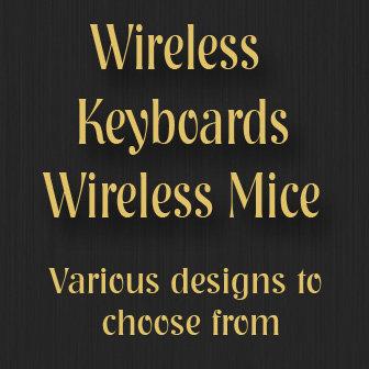 Wireless Keyboards and Matching Wireless Mice
