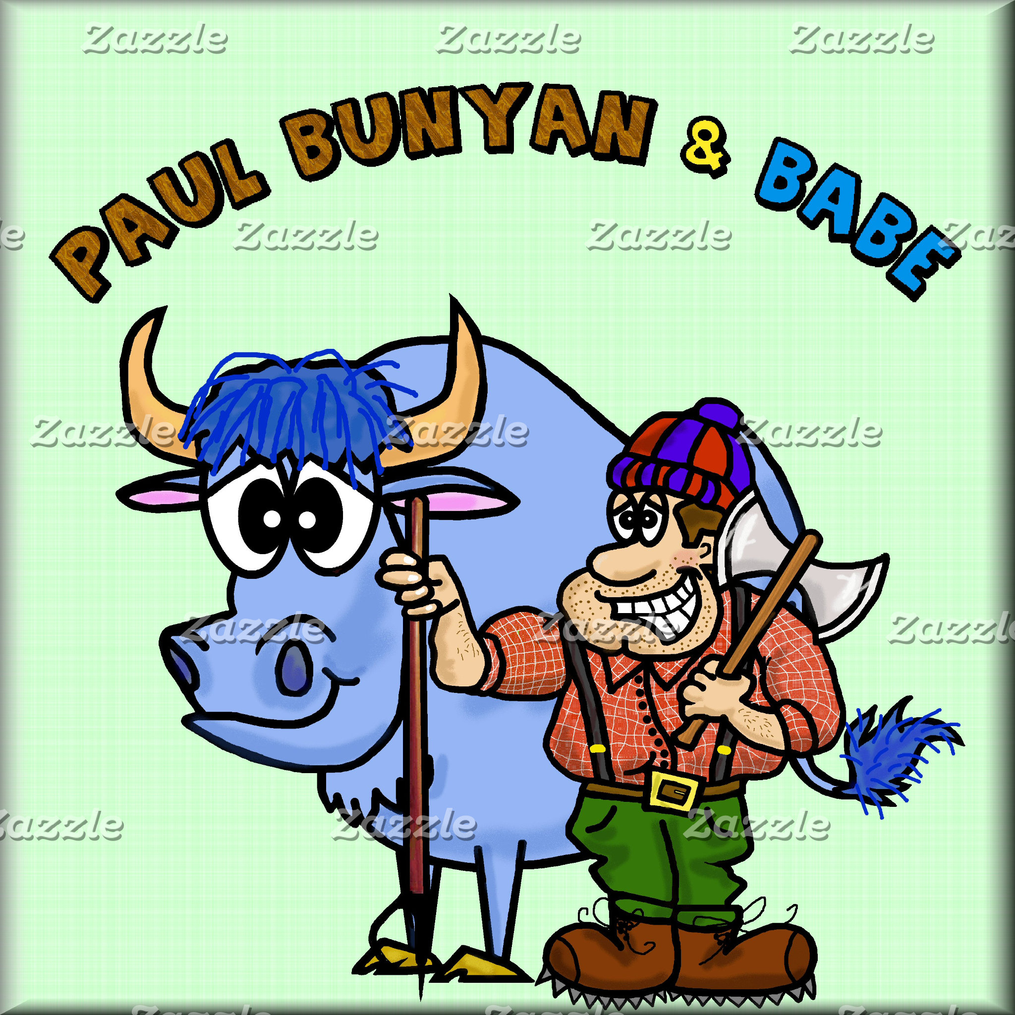 PAUL BUNYAN & Babe