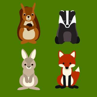 Retro animals