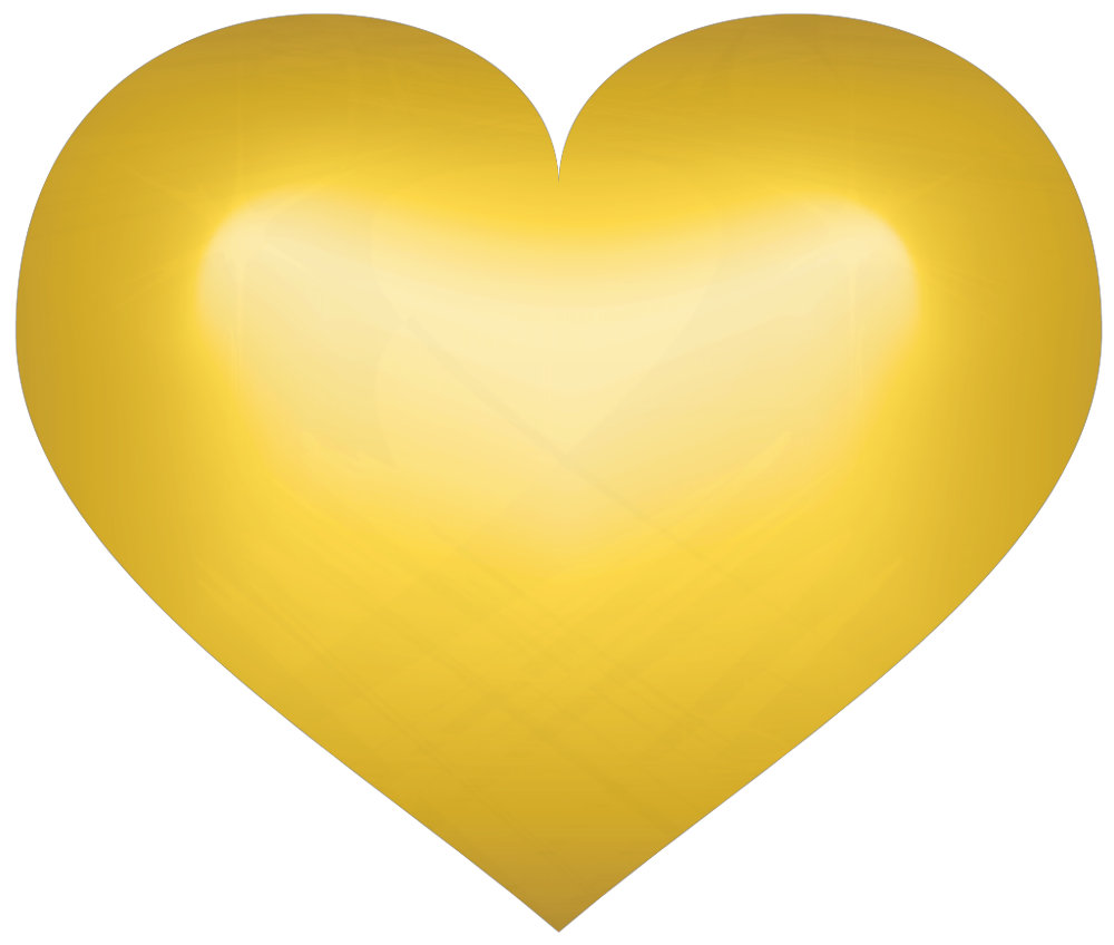 Gold Hearts