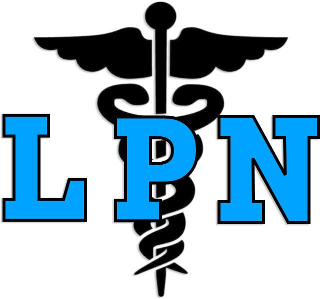 AN LPN Nurse Medical Symbol