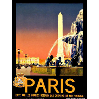 Vintage Travel Postcards