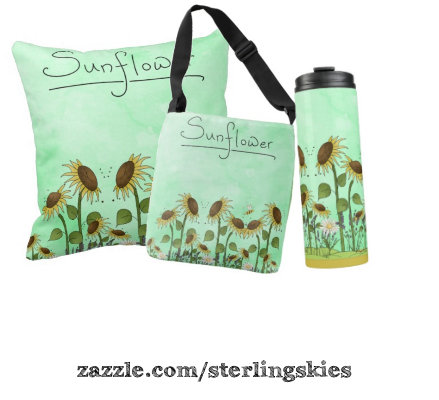 Summer Sunflowers Room Decor and Gifts