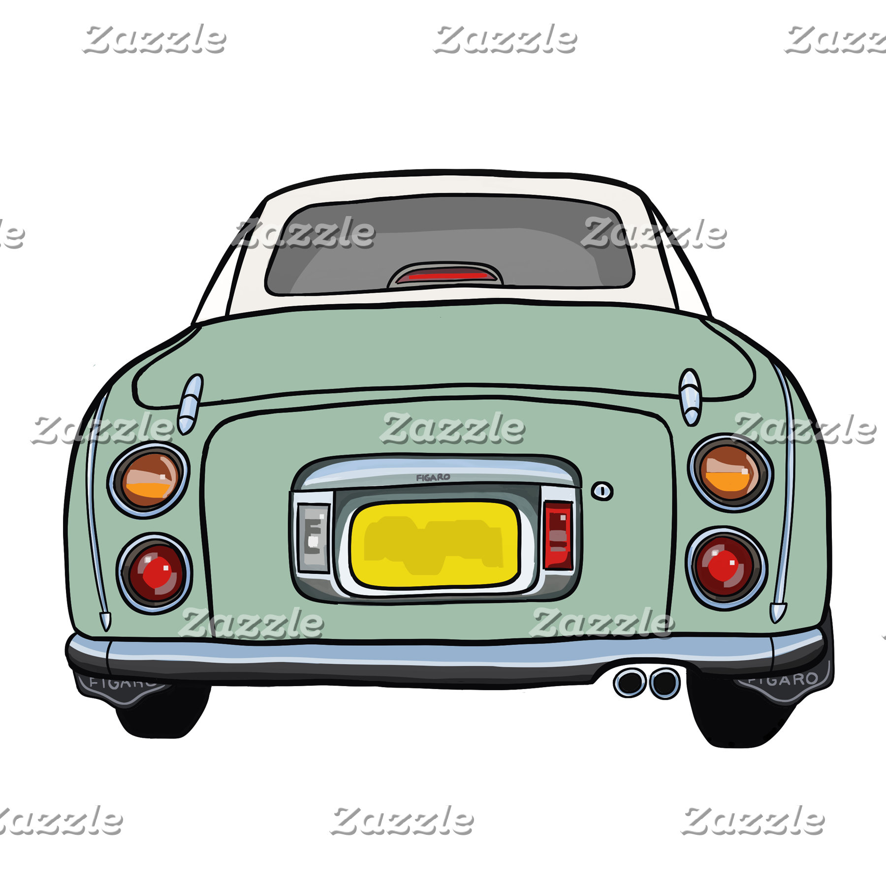 Emerald Green Figaro Car