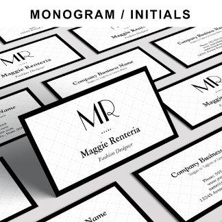 - Monogram -