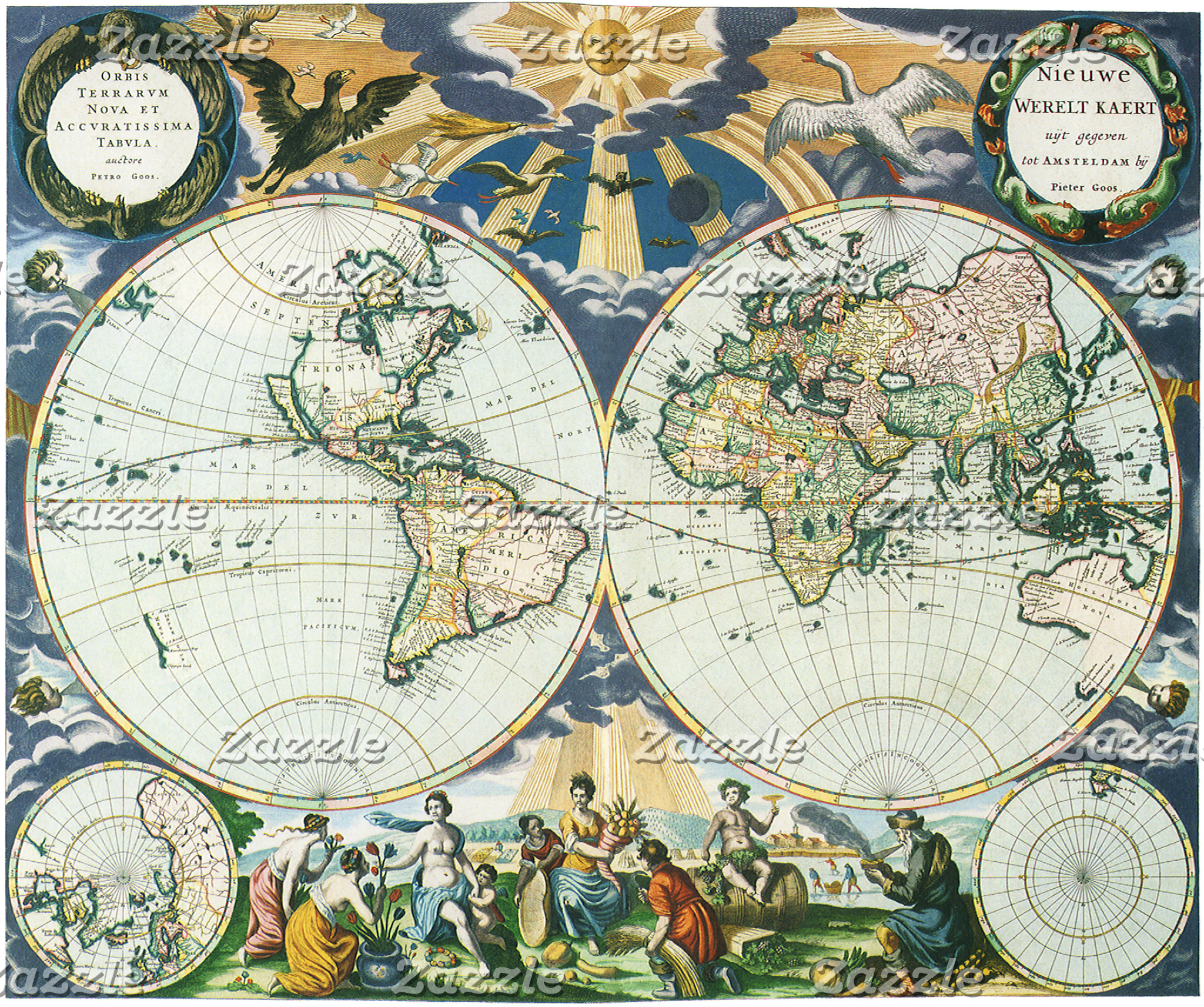 Antique Maps Gifts