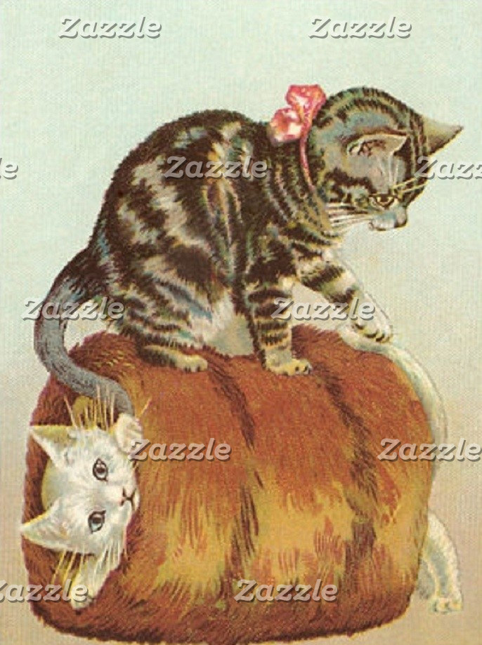 Vintage Cats and Kittens