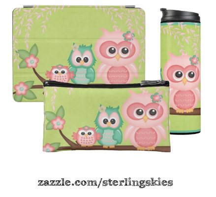 Cute Colorful Owl Collection