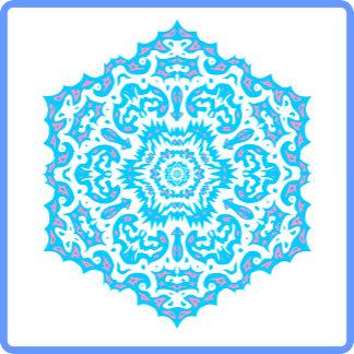 Different Mandalas Snowflakes
