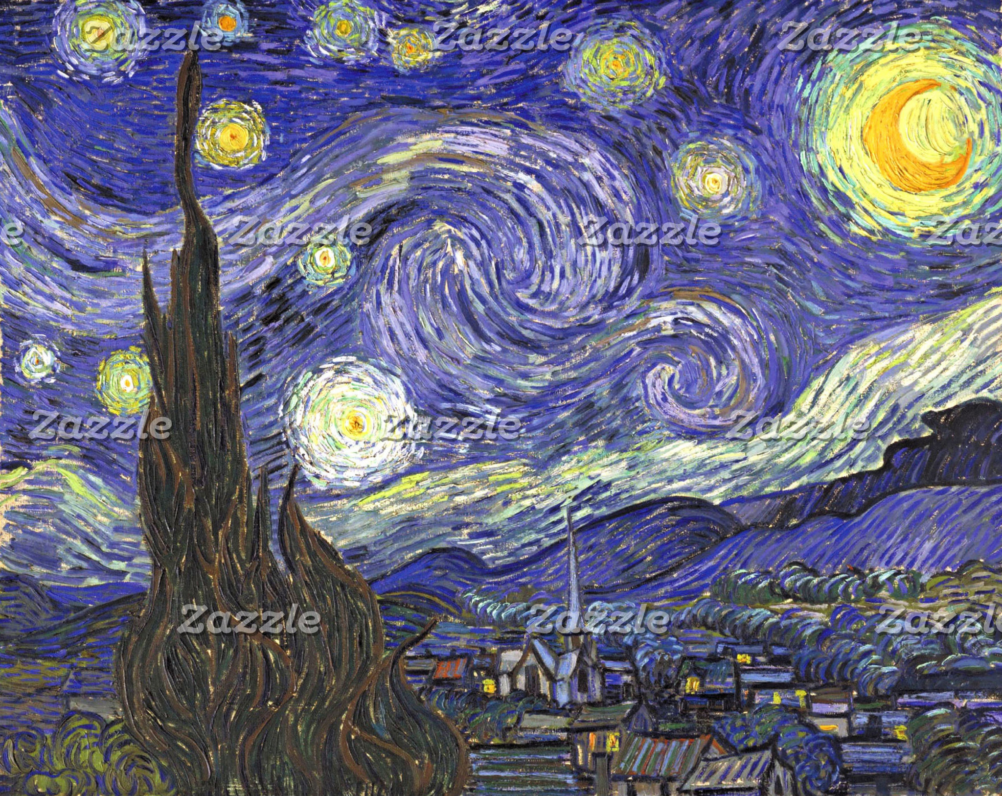 Landscapes by Vincent van Gogh
