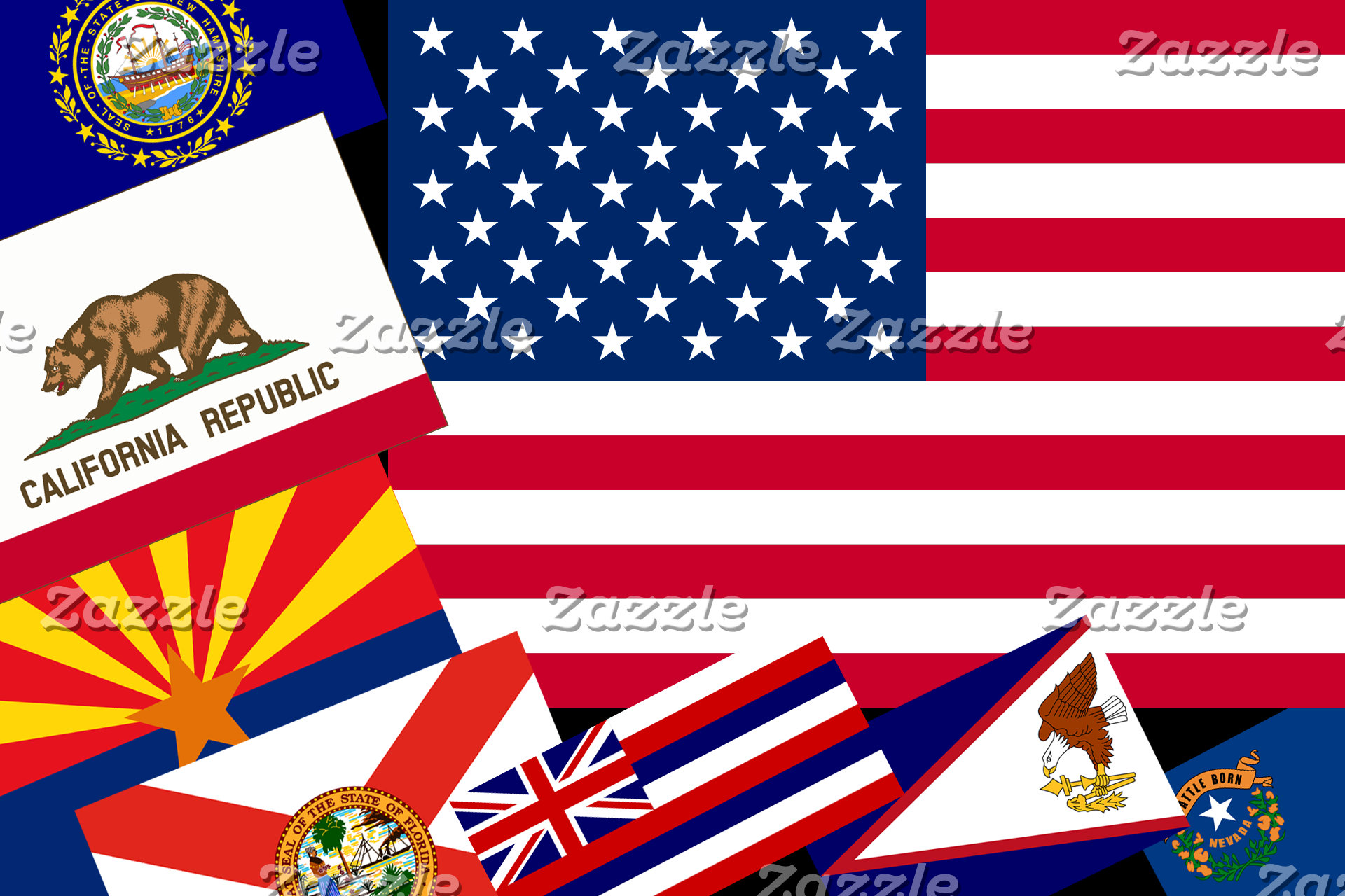 USA, US States and US Territories