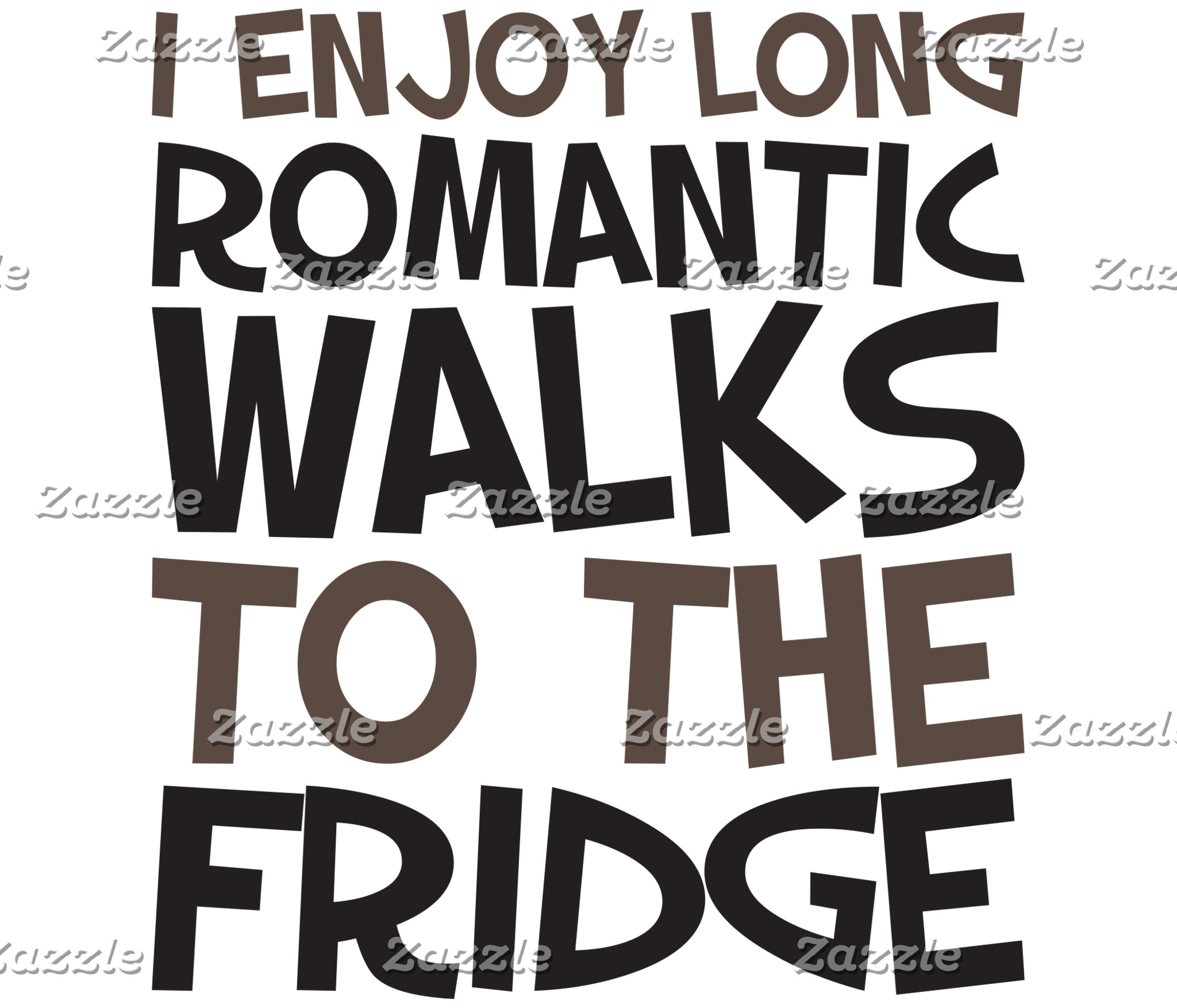 Romantic Walks to the Fridge