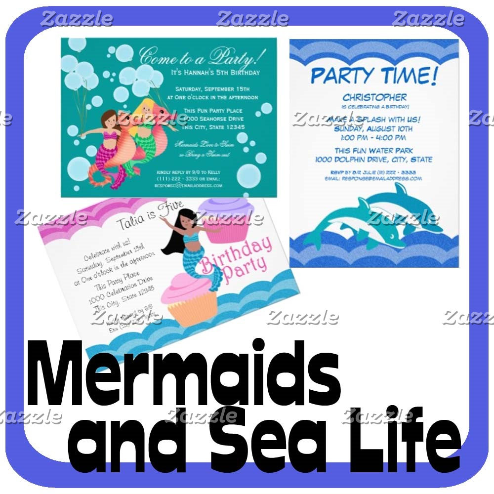 Mermaids and Sea Life