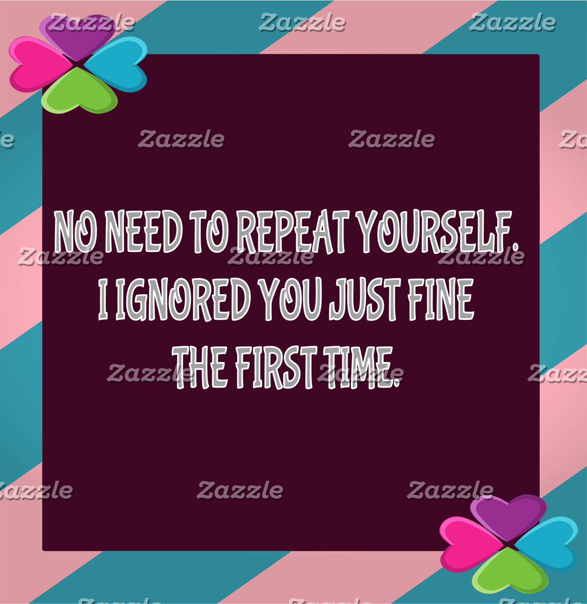 Repeat Yourself
