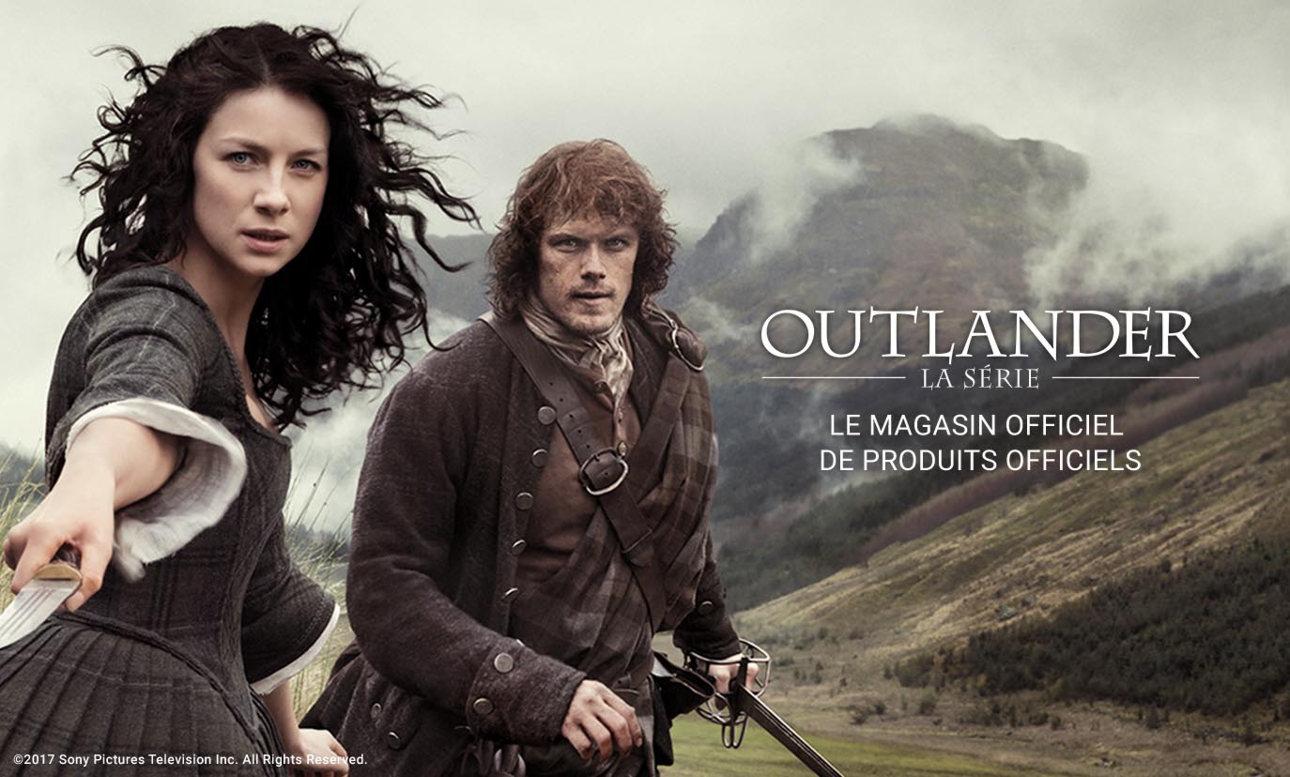 Produits officiels de Outlander la série
