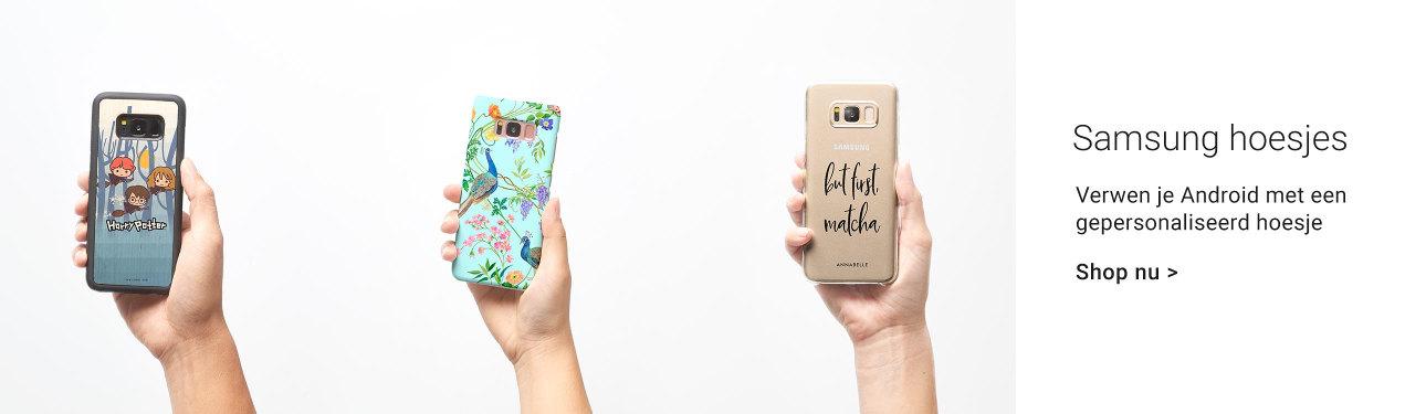Gepersonaliseerde hoesjes voor je Samsung