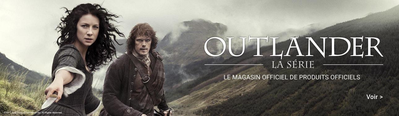 Produits officiels Outlander la série