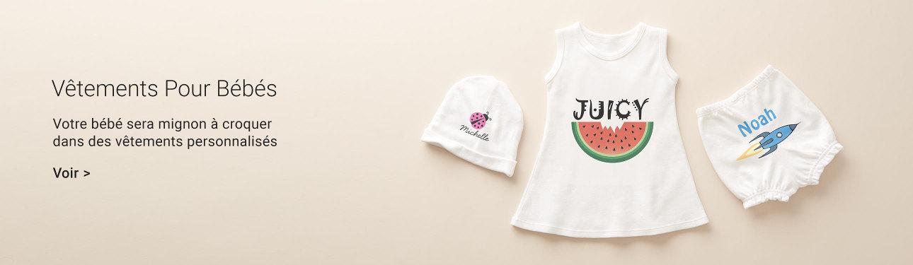 Vêtements pour les bébés