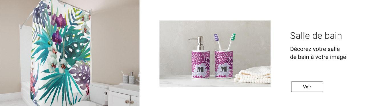 Décorez votre salle de bain à votre image