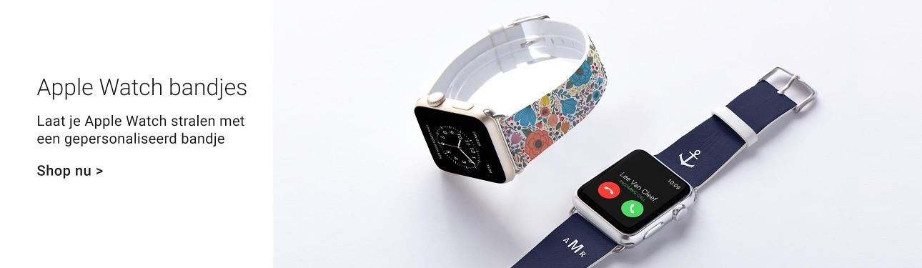 Gepersonaliseerde armbandjes voor je Apple Watch