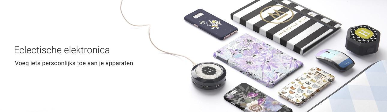 Voeg iets persoonlijks toe aan je elektronische gadgets