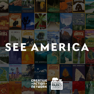 See America illustraties