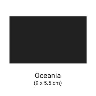 Cartes de visite format Océanie