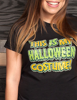 Halloween kostuum t-shirts