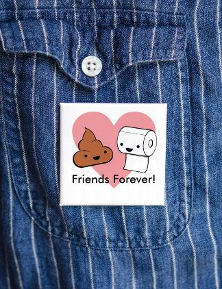 Badges pour vos meilleurs amis