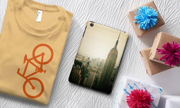 Maak je eigen speciale cadeau voor hem en personaliseer met kleur, stijl of design.