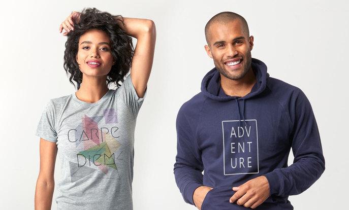 -50% sur les T-shirts & pulls à capuche