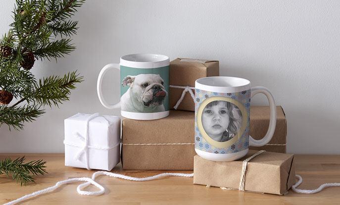 Maak je eigen speciale cadeau voor de grootouders en personaliseer met kleur, stijl of design.