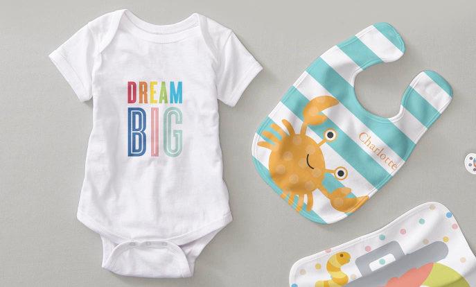 Baby Showers personnalisés avec Zazzle!