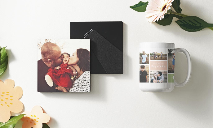 Browse through our incredible selection of Mother's Day gifts, such as these photo plaque and mug.