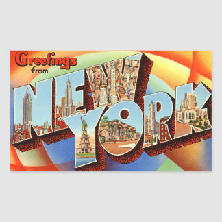 New york autocollants stickers for Autocollant mural new york