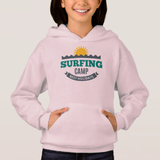 Sweat A Capuche Fille Surf