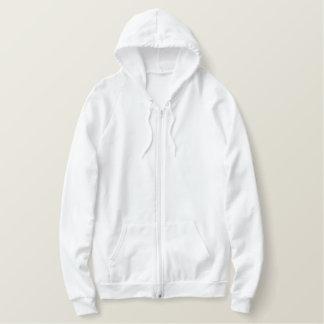 Sweat - shirt à capuche américain brodé de sweatshirt avec capuche